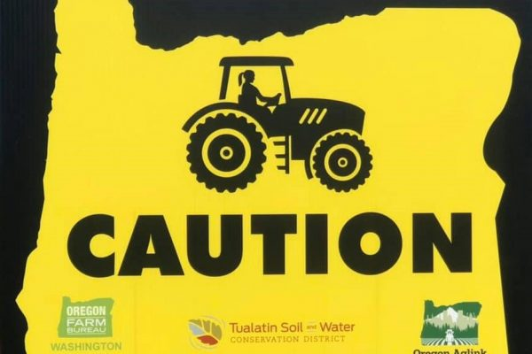 Caution signs are being posted on rural roads in Washington County to encourage awareness of slow-moving vehicles and to promote driver safety.